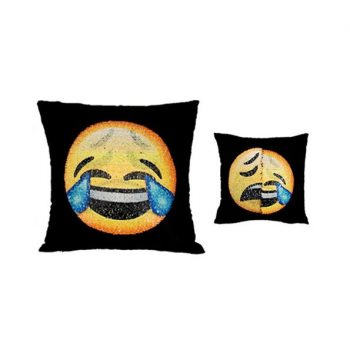 buy sequin emoji pillow case online 1
