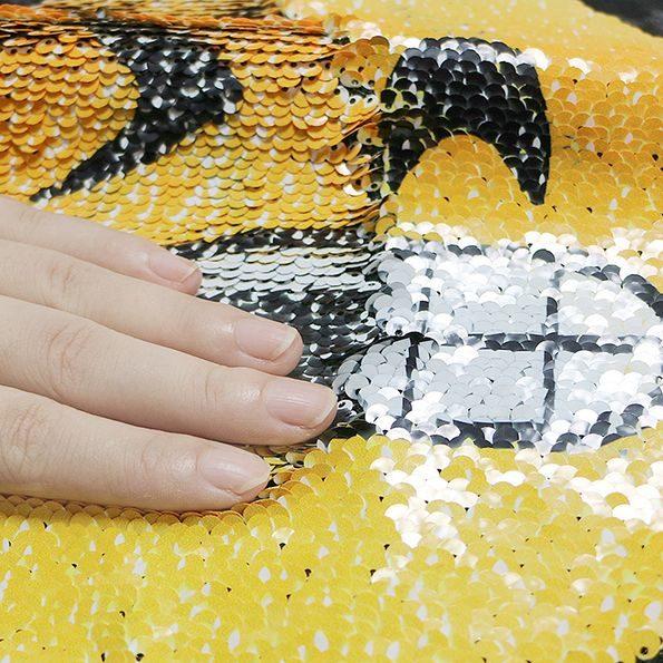buy sequin emoji pillow case online 3