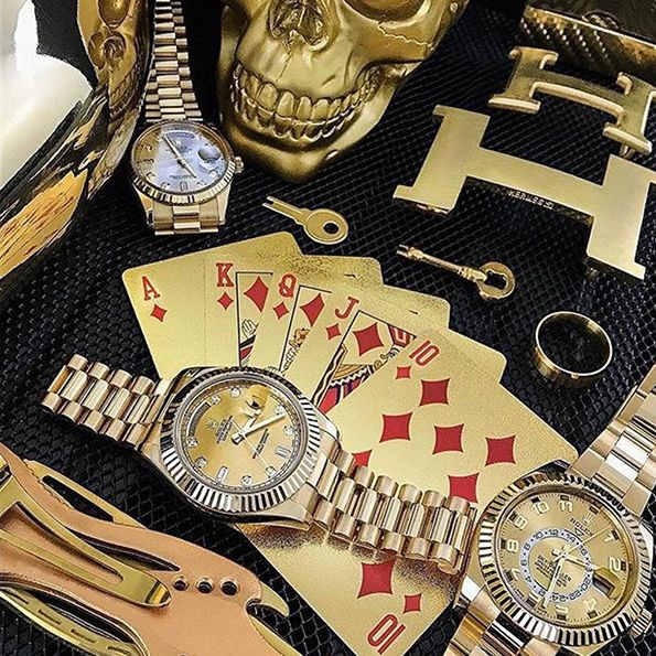buy 24k gold playing cards online 7